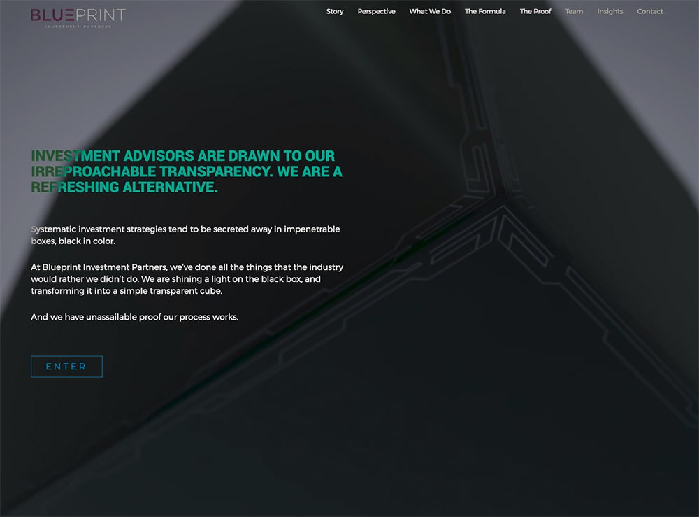 A gordon design clean creative webdesign blueprint investment partners malvernweather Image collections